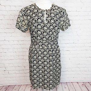 5for$25 J.Crew Ribbon Bow Silk Chiffon Dress